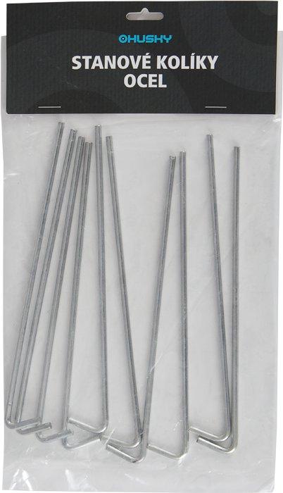 Stanový kolík Kolíky - Ocel, Husky - délka 17 cm