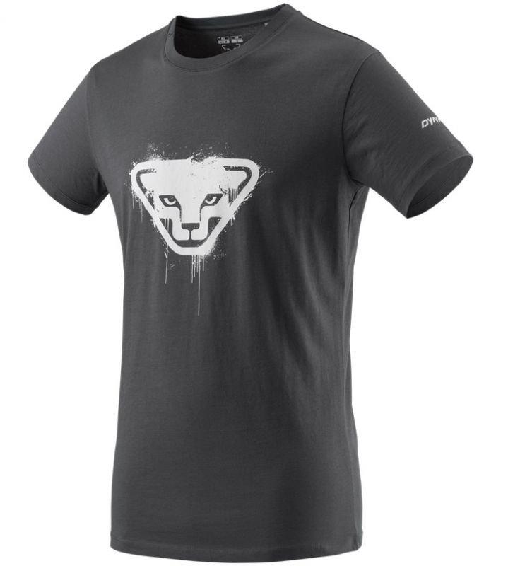 Šedé pánské tričko Graphic, Dynafit - velikost XXL