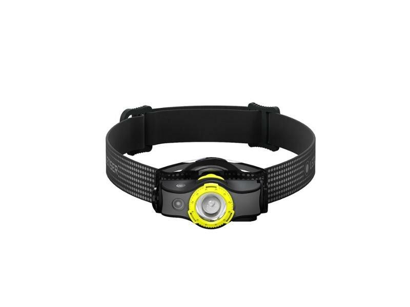 Černo-žlutá čelovka MH5, Ledlenser