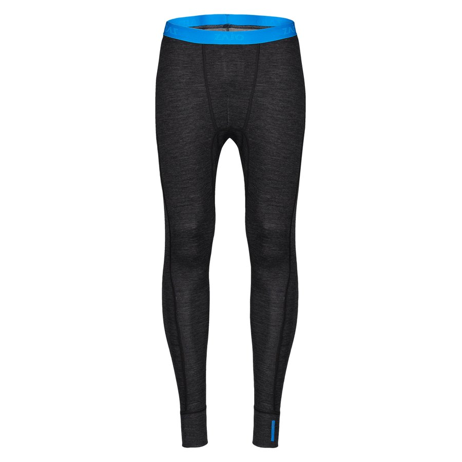 Černé pánské spodky Bergen Merino Pants, Zajo - velikost XL