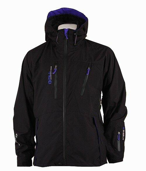 Zimní pánská bunda s kapucí Expedition, Mill - velikost XL