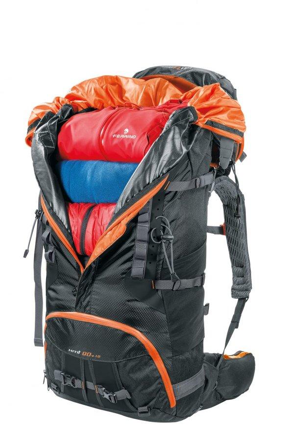 Černý turistický batoh X.M.T., Ferrino - objem 80 l