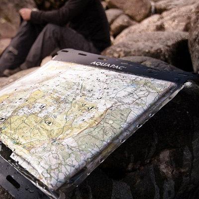 Vodotěsné pouzdro na mapu Kaituna Map Case, Aquapac