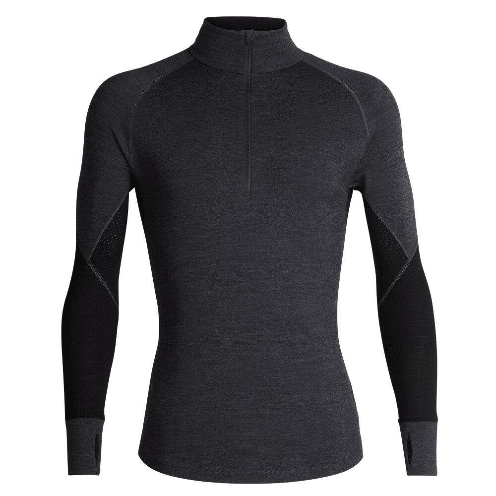 Merino pánské tričko Icebreaker 260 Zone LS Half Zip - velikost L