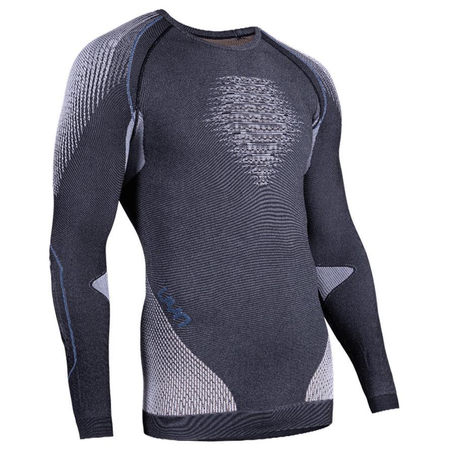 Pánské tričko UYN EVOLUTYON UW SHIRT MELANGE MEN - velikost XXL