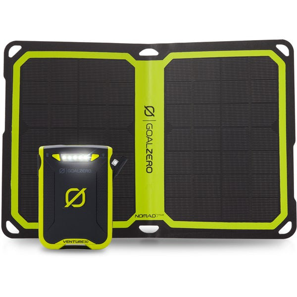Solární powerbanka Venture 30, Nomad 7 PLUS, Goal Zero, Solární panel Venture 30, Nomad 7 PLUS, Goal Zero