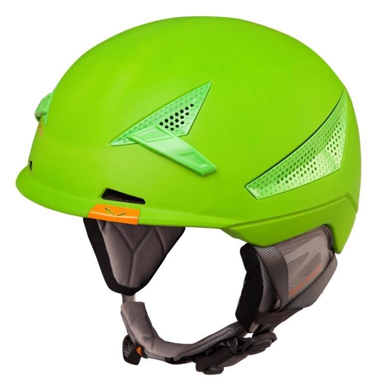 Zelená skialpová helma Vert, Salewa