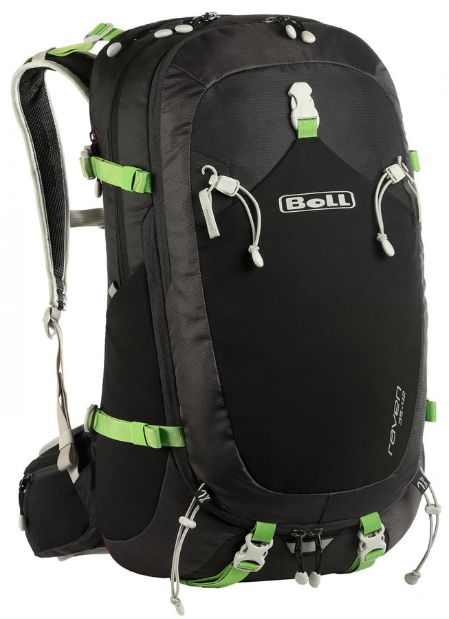 Černý turistický batoh Boll RAVEN 35-42 - objem 42 l