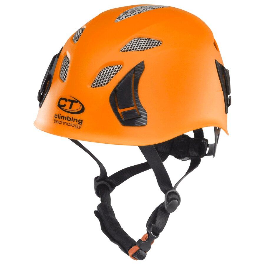 Oranžová horolezecká přilba Climbing Technology Stark
