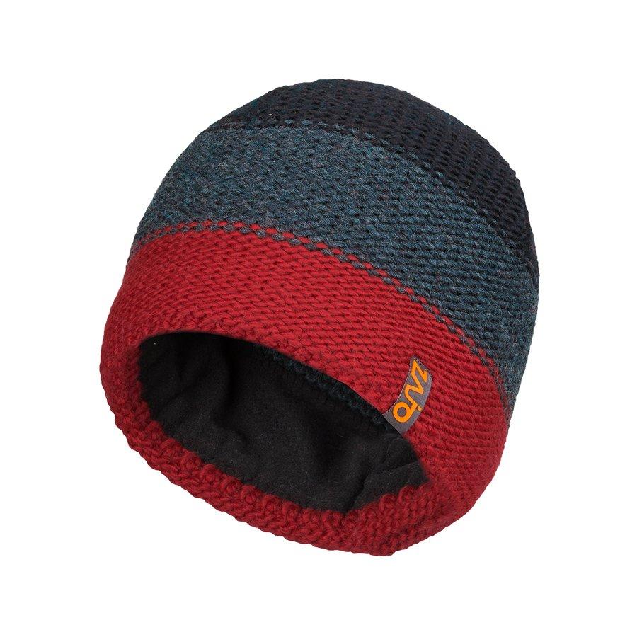 Červená vlněná pánská čepice Lauri M Beanie, Zajo - velikost M