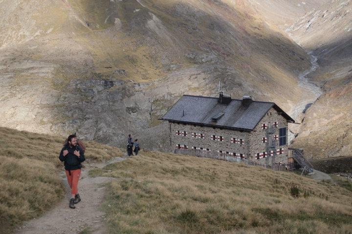 Alpské horské chaty